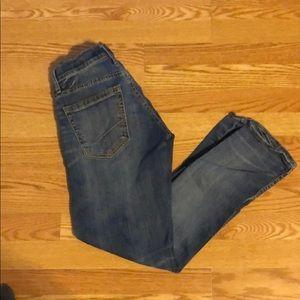 Men's BKE boot leg jeans size 29R Carter